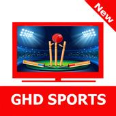 GHD SPORTS Free Live TV GUIDE icon
