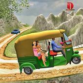 Mountain Auto Tuk Tuk Rickshaw : New Games 2021 icon