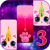 Cat Unicorn Piano Tiles 2021: kpop Music Game icon