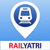 IRCTC Ticket, Train Status, Railway App: RailYatri icon