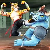 Kung Fu Animal Fighting Games: Wild Karate Fighter icon