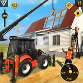 Mobile Home Builder City Construction Games 2021 icon