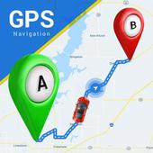 GPS, Offline Maps, Navigation & Directions icon