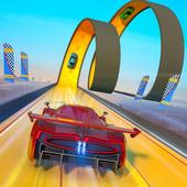 Extreme Stunts Car Chase Ramp GT Racing Car Games icon