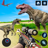 Wild Animal Hunting Games : Dinosaur Games Offline icon