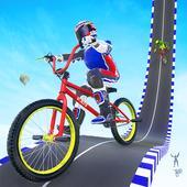 BMX Mega Ramp Cycle Stunt Game icon