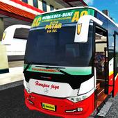 Mod BUSSID : Bus Scorpion X Livery Harapan Jaya icon