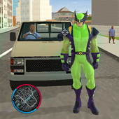 Super wolverne Rope Hero Gangstar OffRoad Crime icon