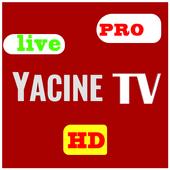 Yassin Tv 2021 ياسين تيفي live football tv HD icon