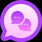 Salas de Chat - Ligar, Amistad, Amor & Citas icon