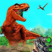 Wild Dinosaur hunt : Adventurer Hunting Games icon