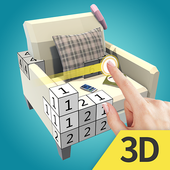 Color World 3D - Paint By Number icon