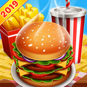 Cooking Food Chef & Restaurant Games Craze icon