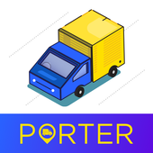 Truck & Bike Delivery | Movers & Packers – Porter icon