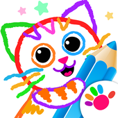 Pets Drawing for Kids and Toddlers games Preschool icon