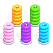 Color Hoop Stack icon