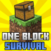 One Block Survival Map icon
