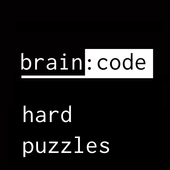 brain code: hard puzzles, tricky brain test icon