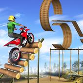 Mega Ramp Bike Stunt Games - Stunt Bike Racing 3D icon