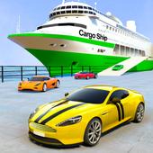 Transport Ship Driving Games-Cruise Ship Simulator icon