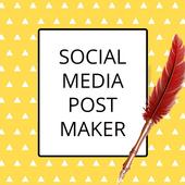 Post Maker, Content Creator, Graphic Design App icon