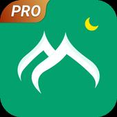 Prayer times, Quran and azan & Qibla-Vmuslim Pro icon