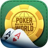 Poker World: Texas hold'em icon